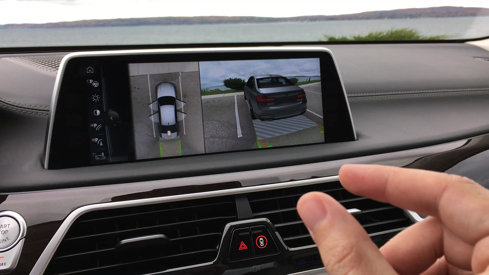 2016 BMW 7 Series Surround View Gesture Control | Autoblog Short Cuts