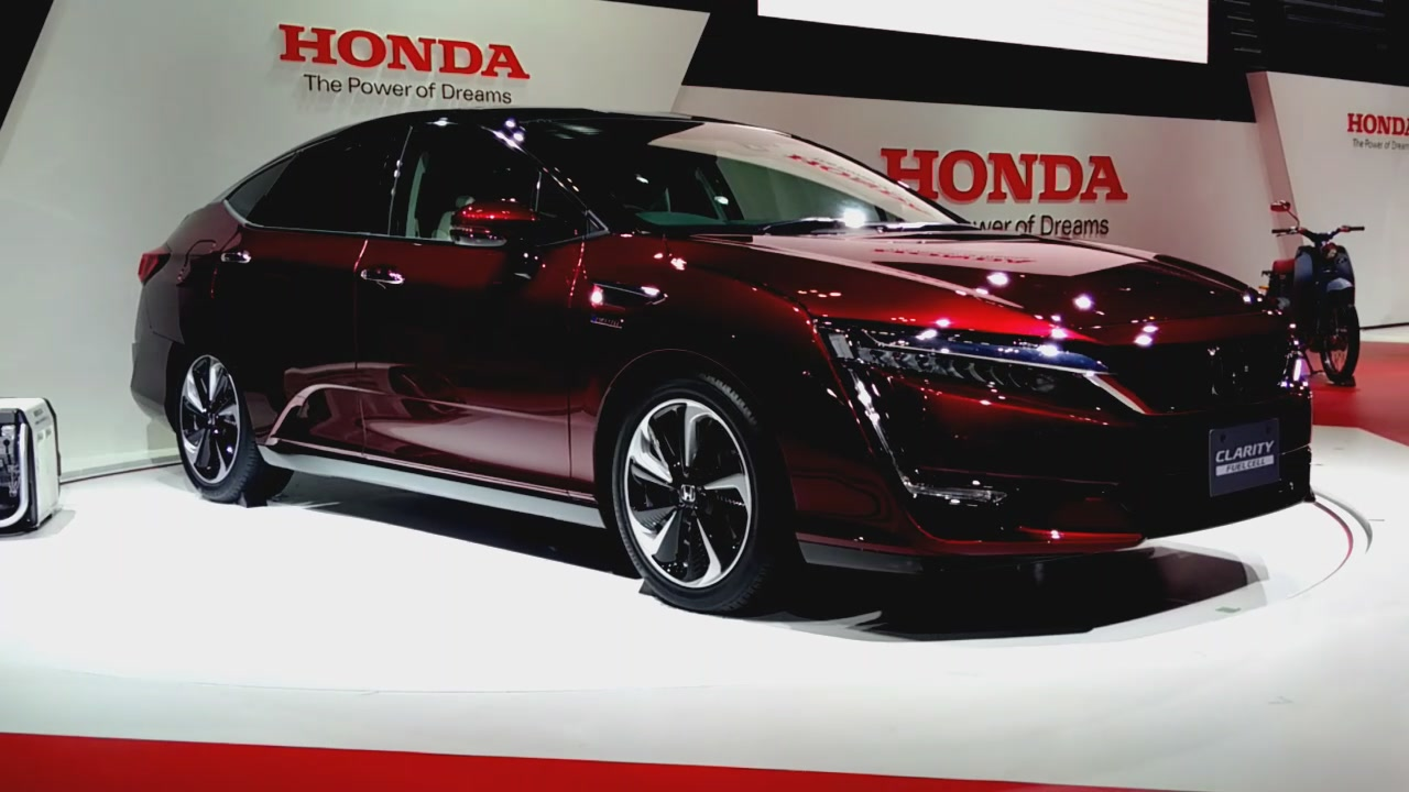 Honda Clarity Series brings EV, PHEV to hydrogen fuel cell