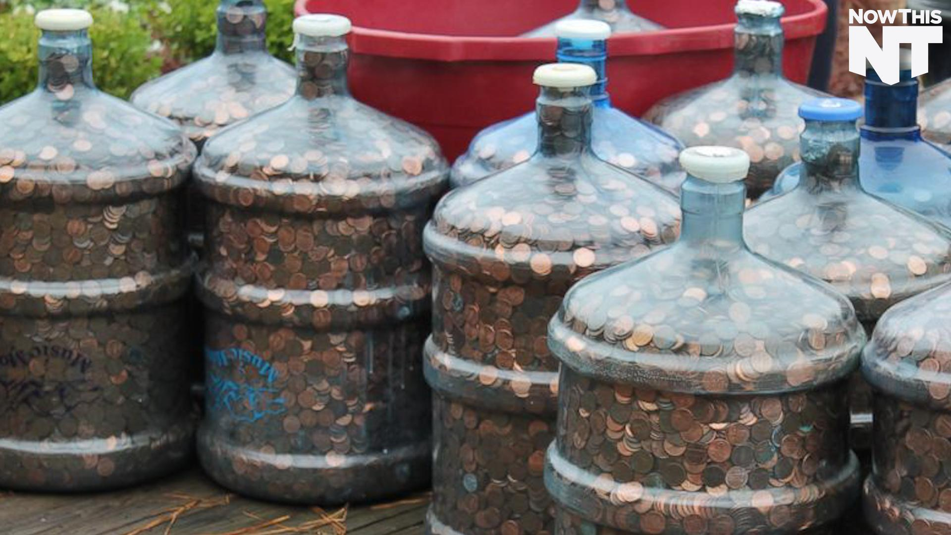 This Guy Collected Pennies For 45 Years