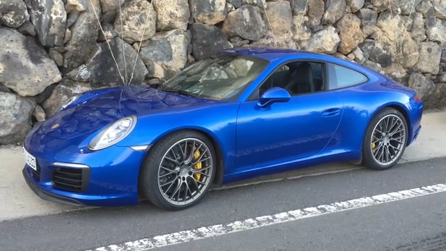 2017 Porsche 911 Carrera in Tenerife | On Location