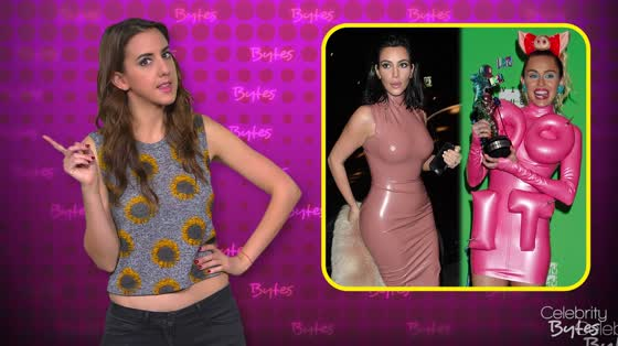 Celebs Wearing Latex Is the New Trend