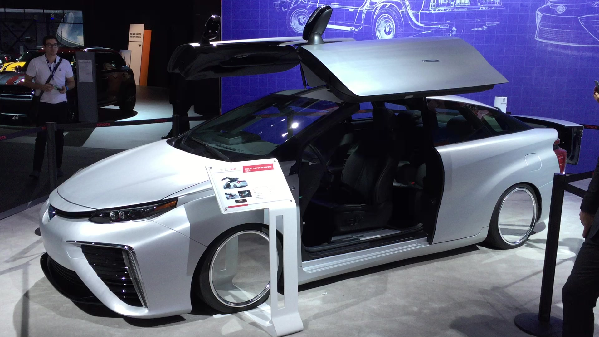 SEMA Toyota Mirai WIth Gull-Wing Doors | LA Auto Show | Autoblog Short Cuts