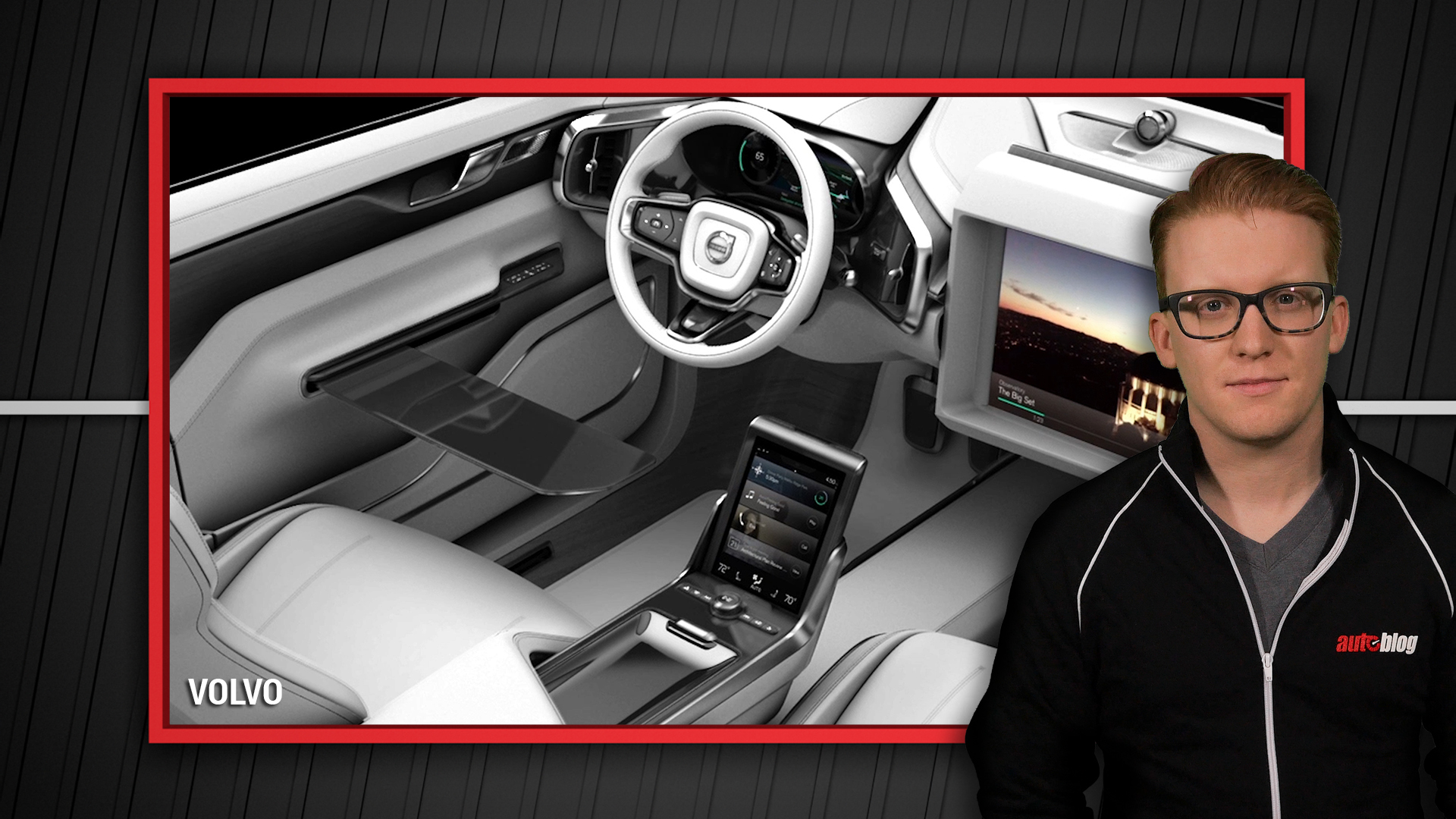 2015 Connected Car Expo and Volvo's Concept 26 Interior | Autoblog Minute
