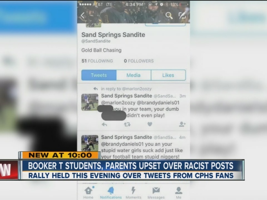 Booker T. Students, Parents Upset Over Racist Posts