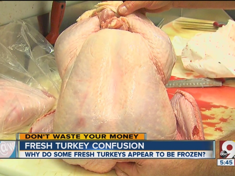Fresh Vs. Frozen Turkey: Confusion Over Why Some Birds Appear Frozen on Outside