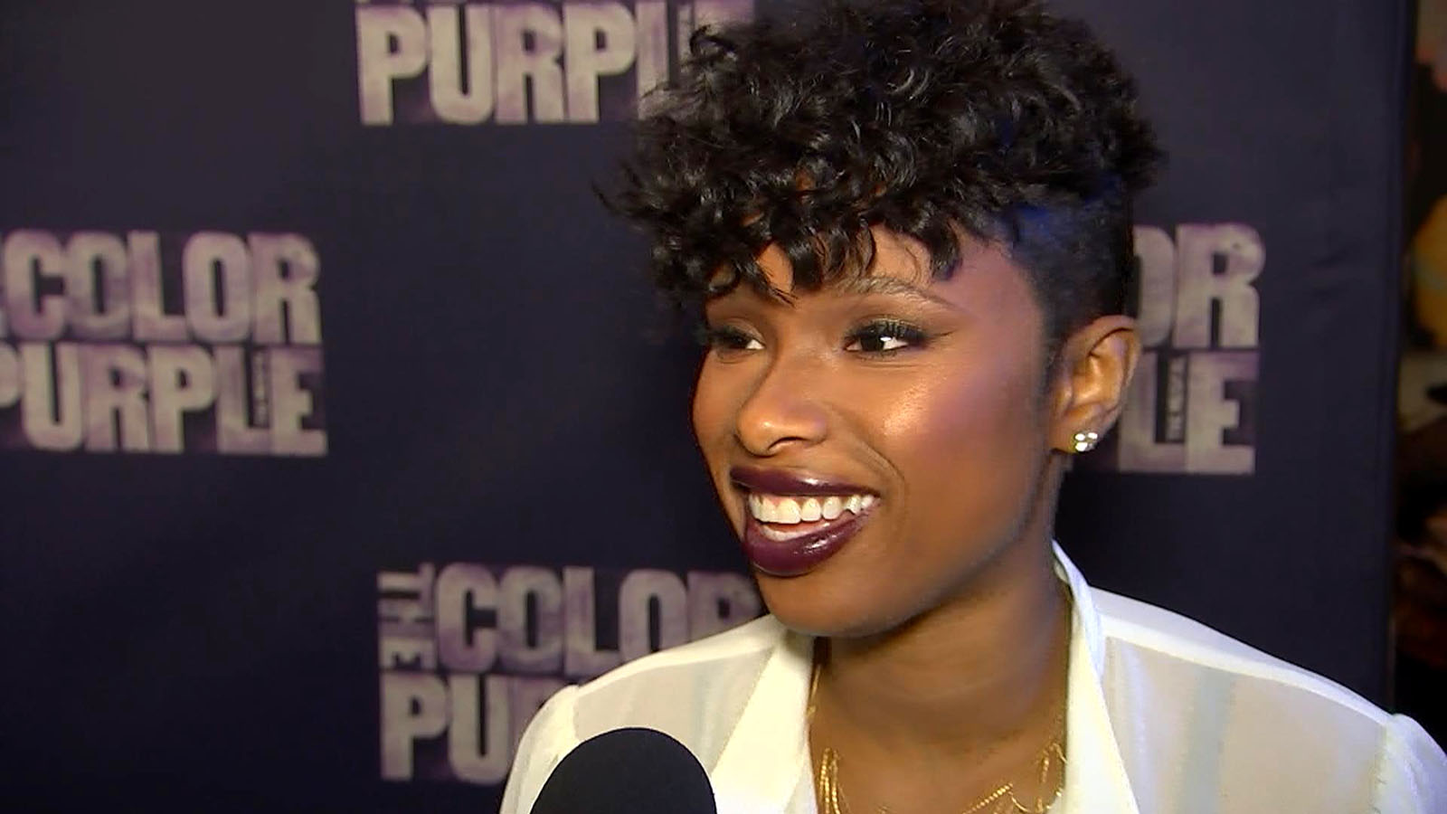 Jennifer Hudson On Making Her Broadway Debut In 'The Color Purple'