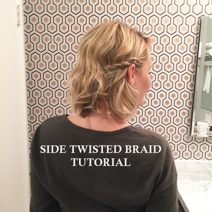 Side Twisted Braid Tutorial