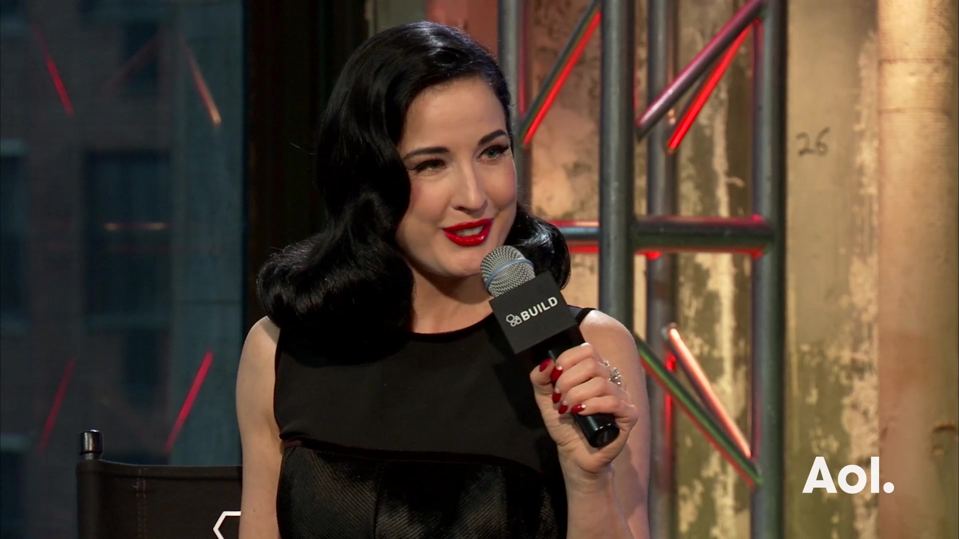 "Dita Von Teese  On ""Your Beauty Mark"""