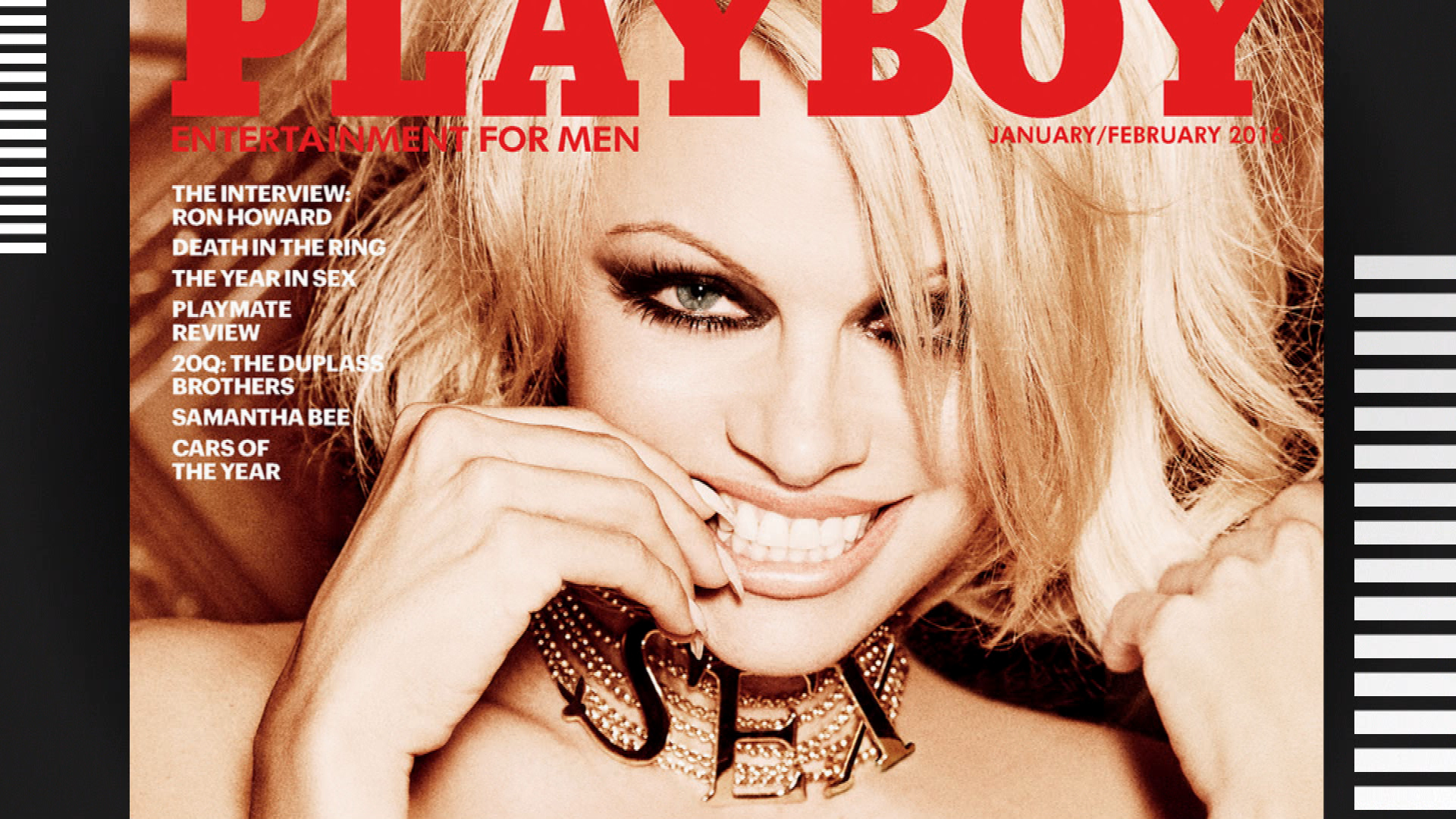 "Pamela Anderson's ""Playboy"" Covers Through the Years"