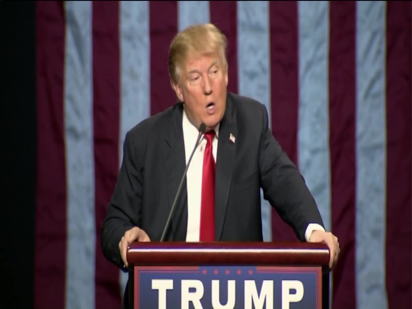 Donald Trump Says He Wants To Ban Muslims From Entering U.S.