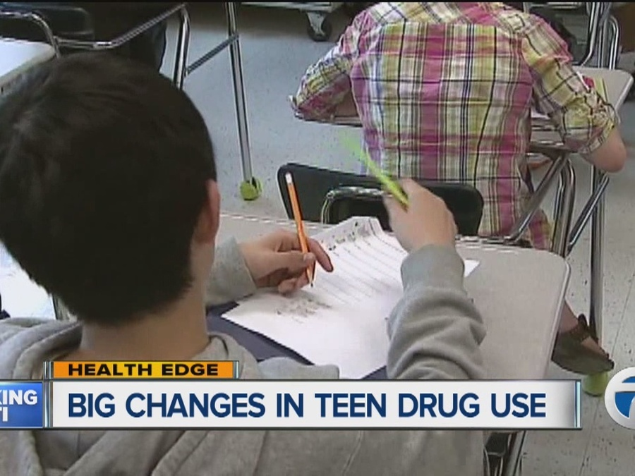 Big Changes in Teenage Drug Use