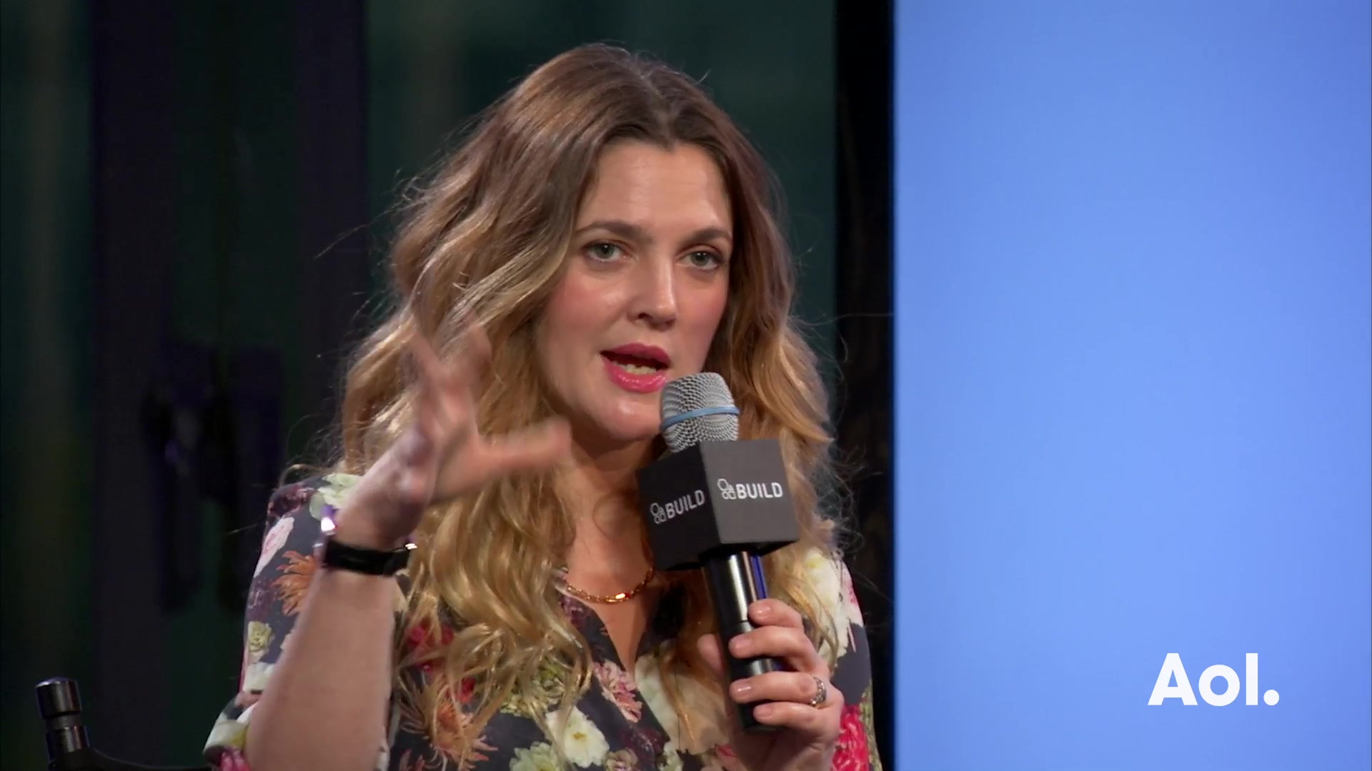 "Drew Barrymore On ""Wildflower"""