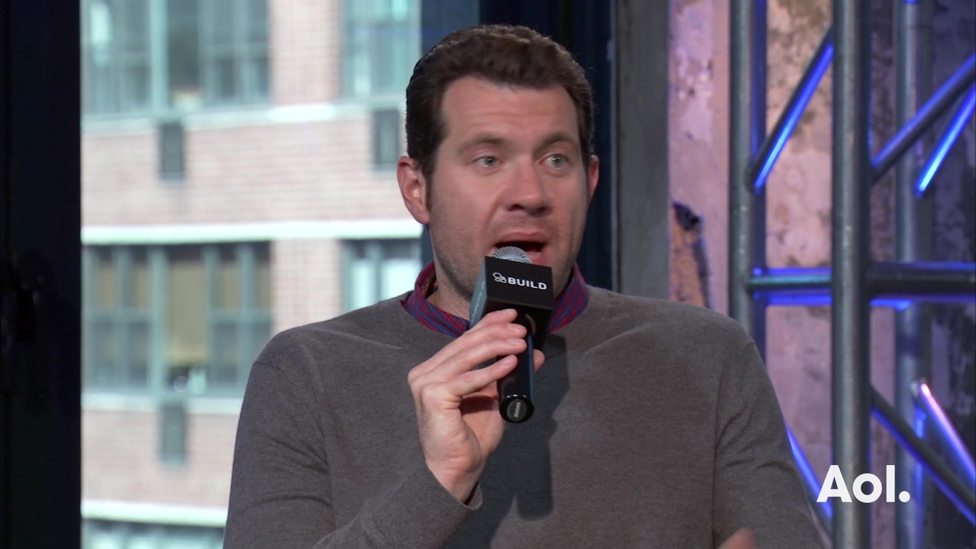 "Billy Eichner Discusses TruTV's ""Billy On The Street"""