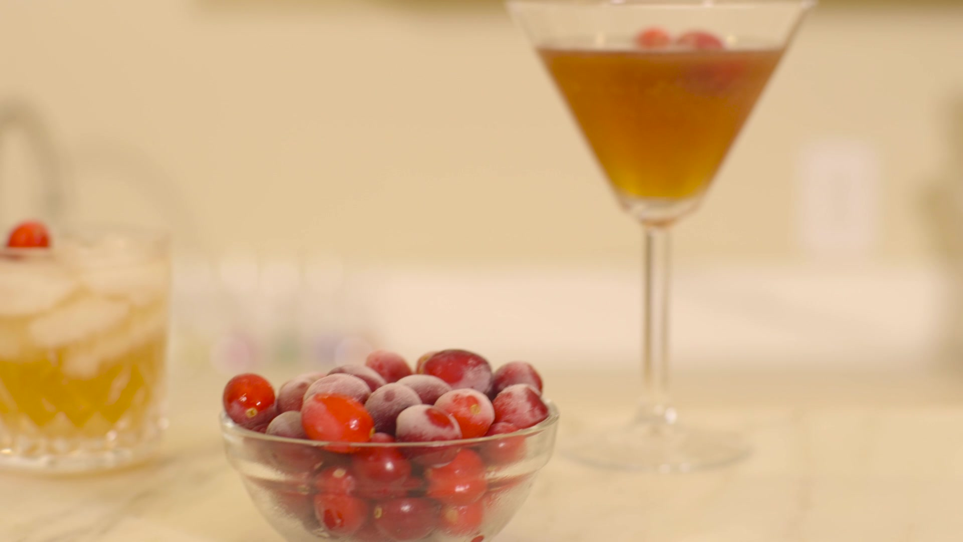 Cranberry Cocktails - 3 Easy Recipes