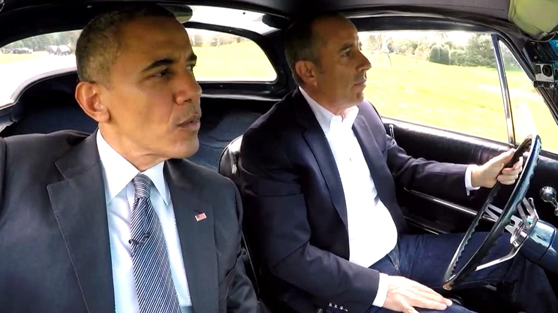 Obama Goes Out (Sort of) for Coffee with Jerry Seinfeld