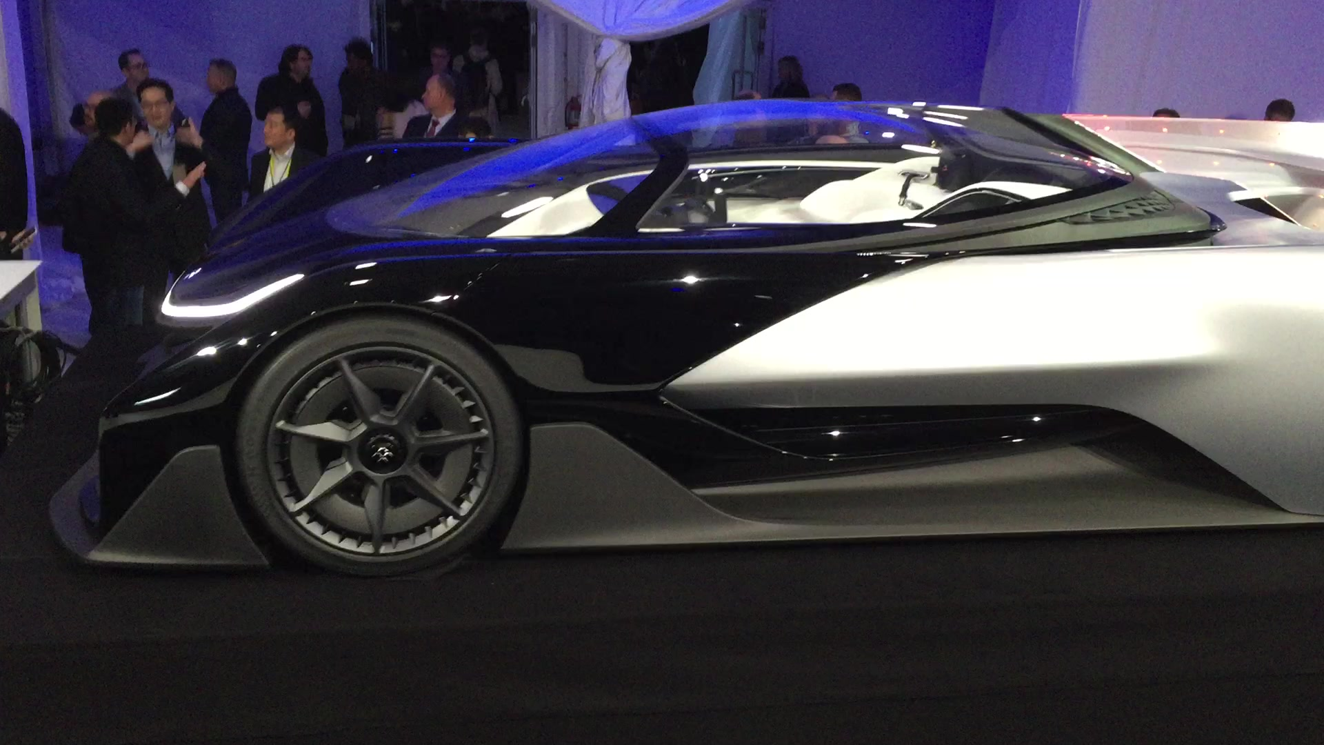 Faraday Future FFZERO1 at CES 2016 | Autoblog Short Cuts