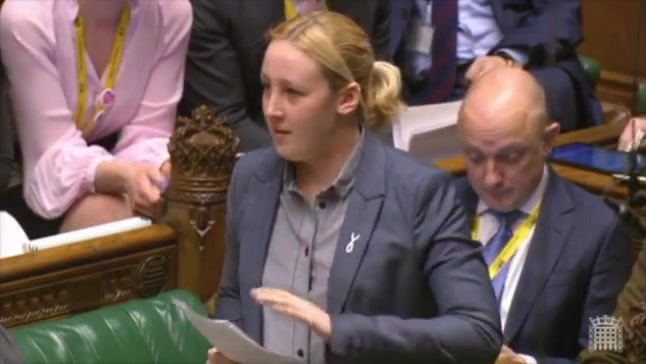 MP Mhairi Black Gives Speech on State Pension Inequality Against Women