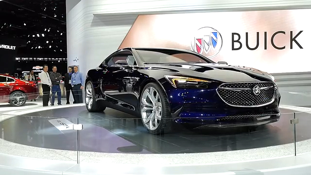 Buick Avista Concept | 2016 NAIAS | Beauty-Roll