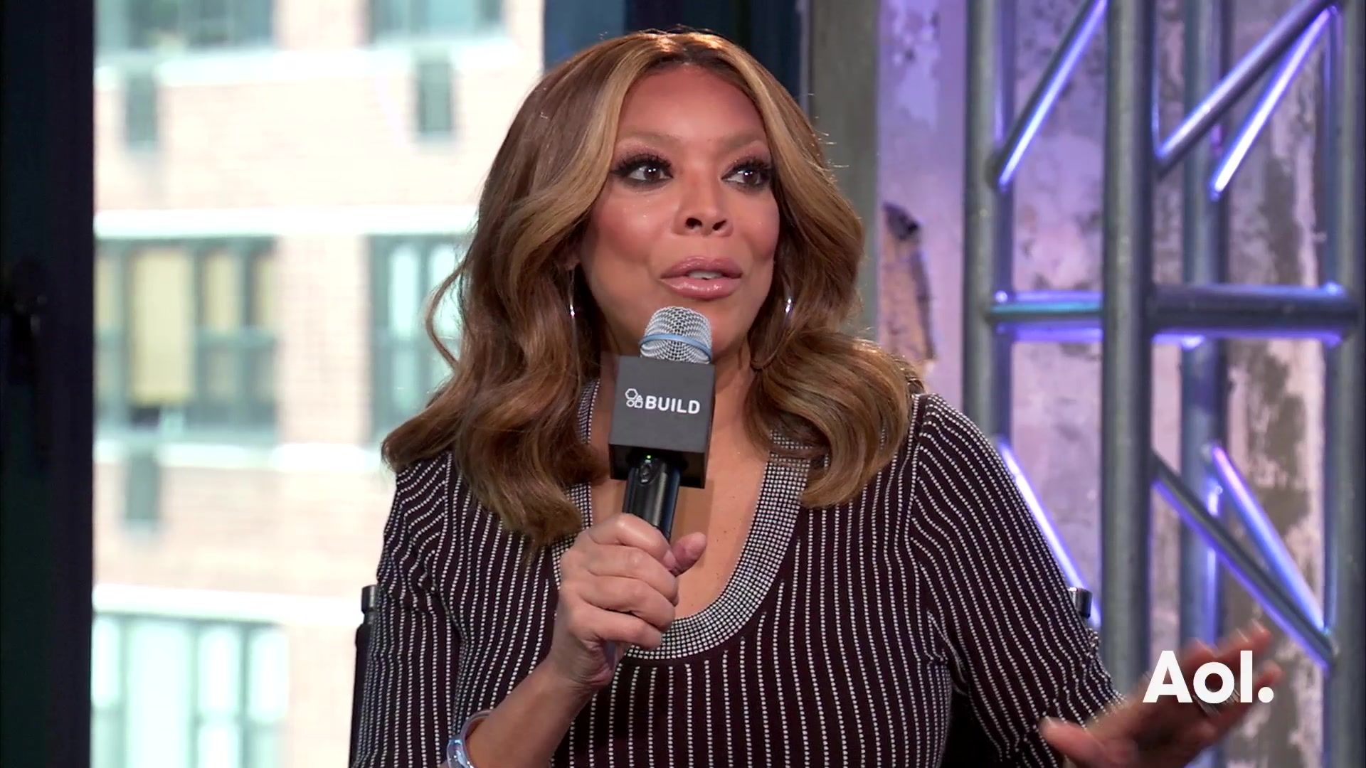 "Wendy Williams On ""The Wendy Williams Show"""