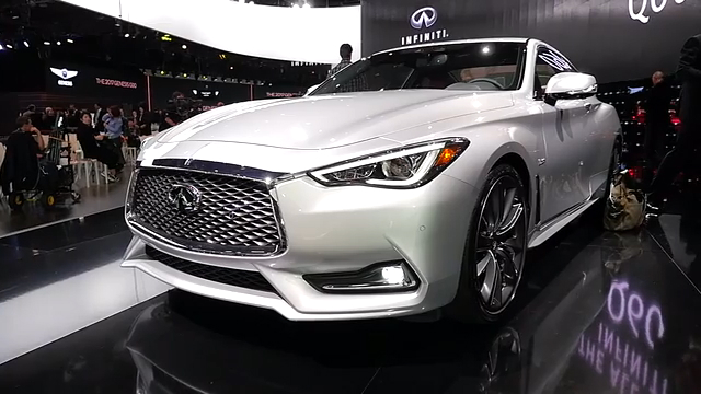 2017 Infiniti Q60 Coupe | 2016 NAIAS | Beauty-Roll