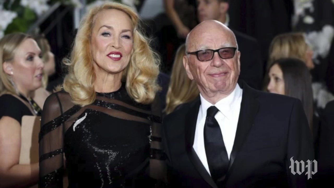 The Past Love Lives of Jerry Hall and Rupert Murdoch