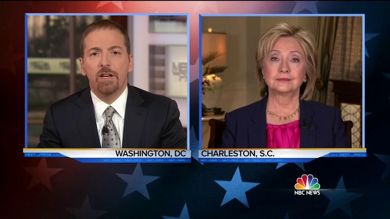 Clinton on '13 Hours' Movie: 'Yes' Everything Possible Was Done to Save Americans During Benghazi Attack