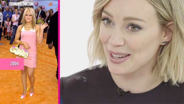 Hilary Duff Critiques Her Best Throwback Looks