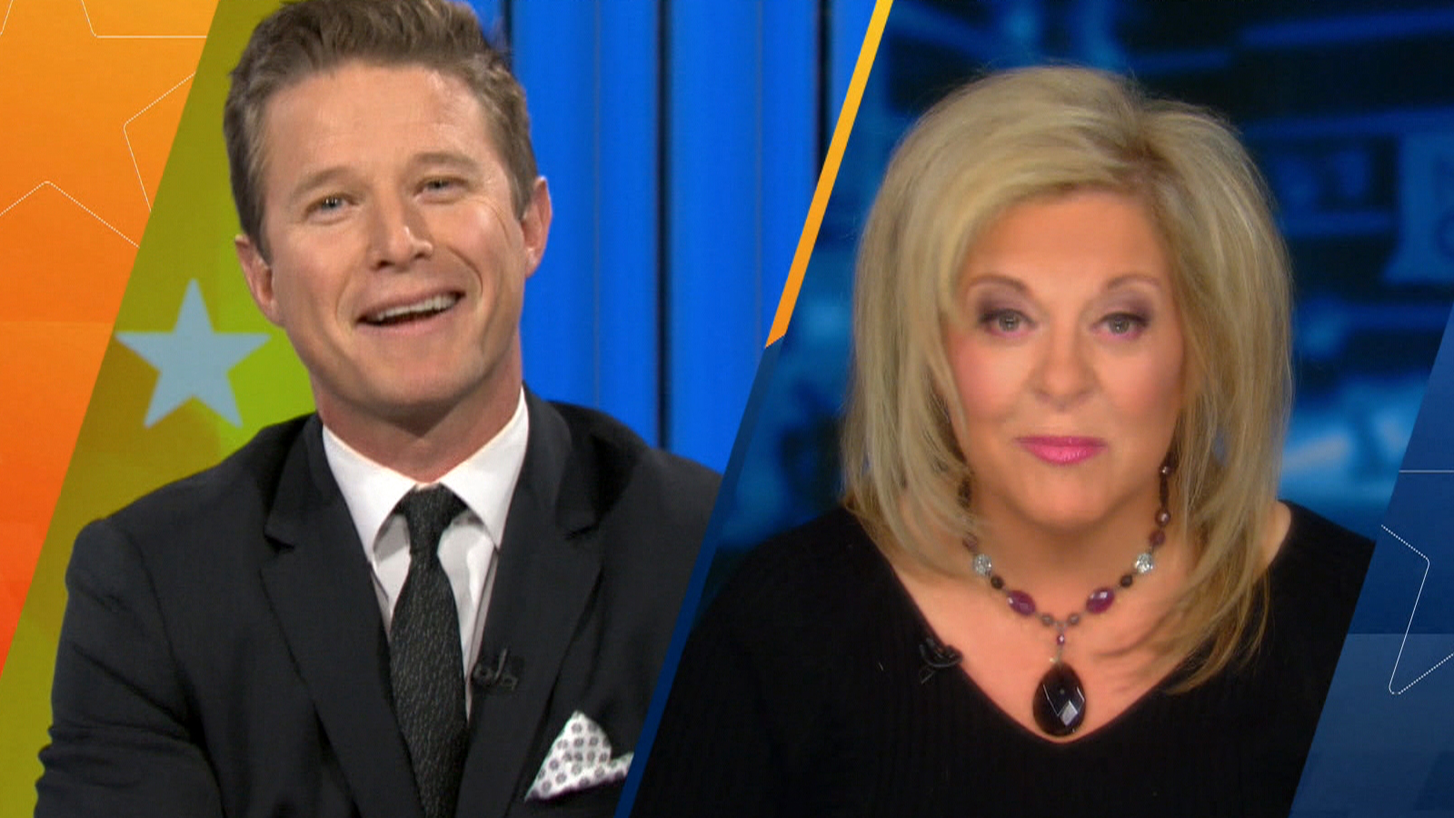 Billy Bush Goes Head-To-Head With Nancy Grace