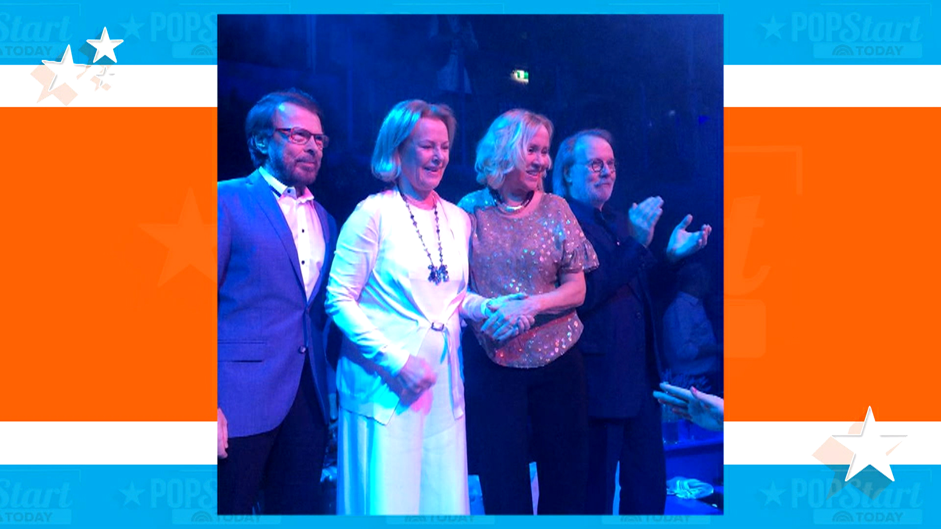 'Mamma Mia!' ABBA Makes Rare Reunion Appearance