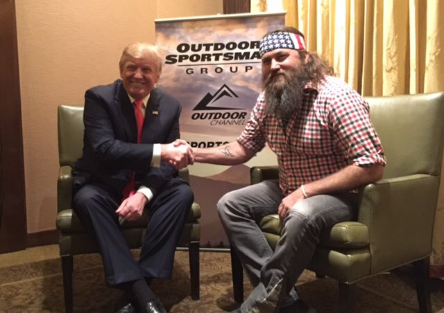 Willie Robertson of 'Duck Dynasty' Endorses Donald Trump for President