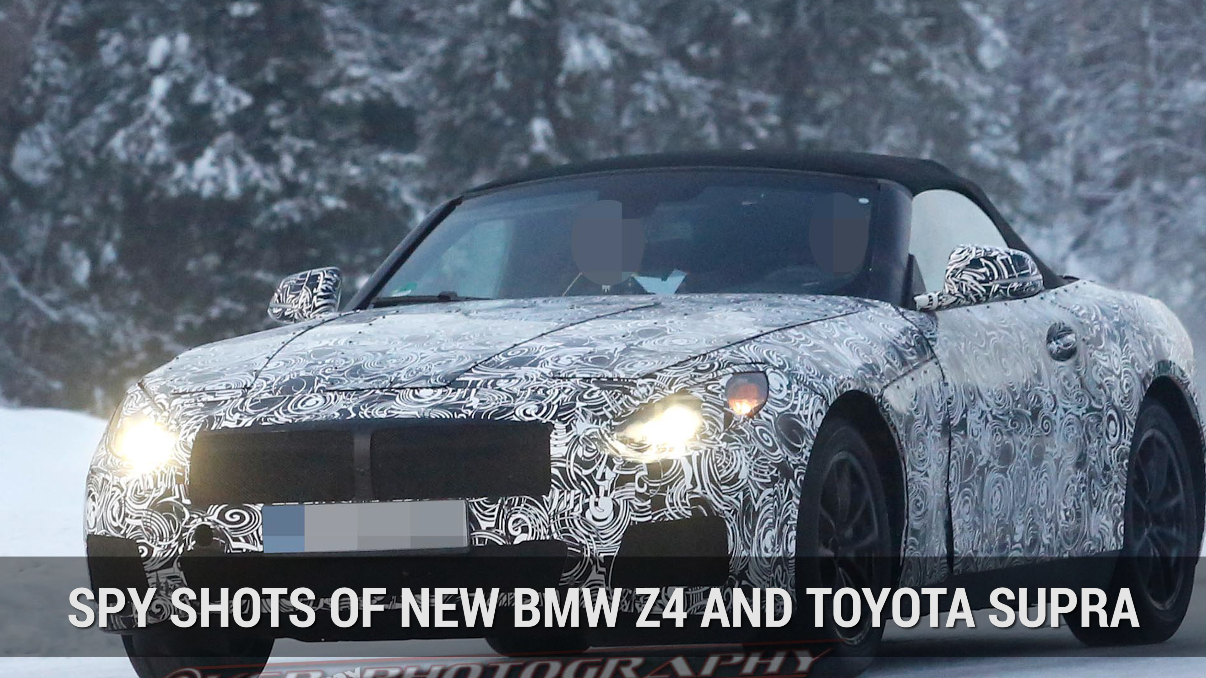 BMW Z4, Supra Replacemnet Spy Shots | Autoblog Minute