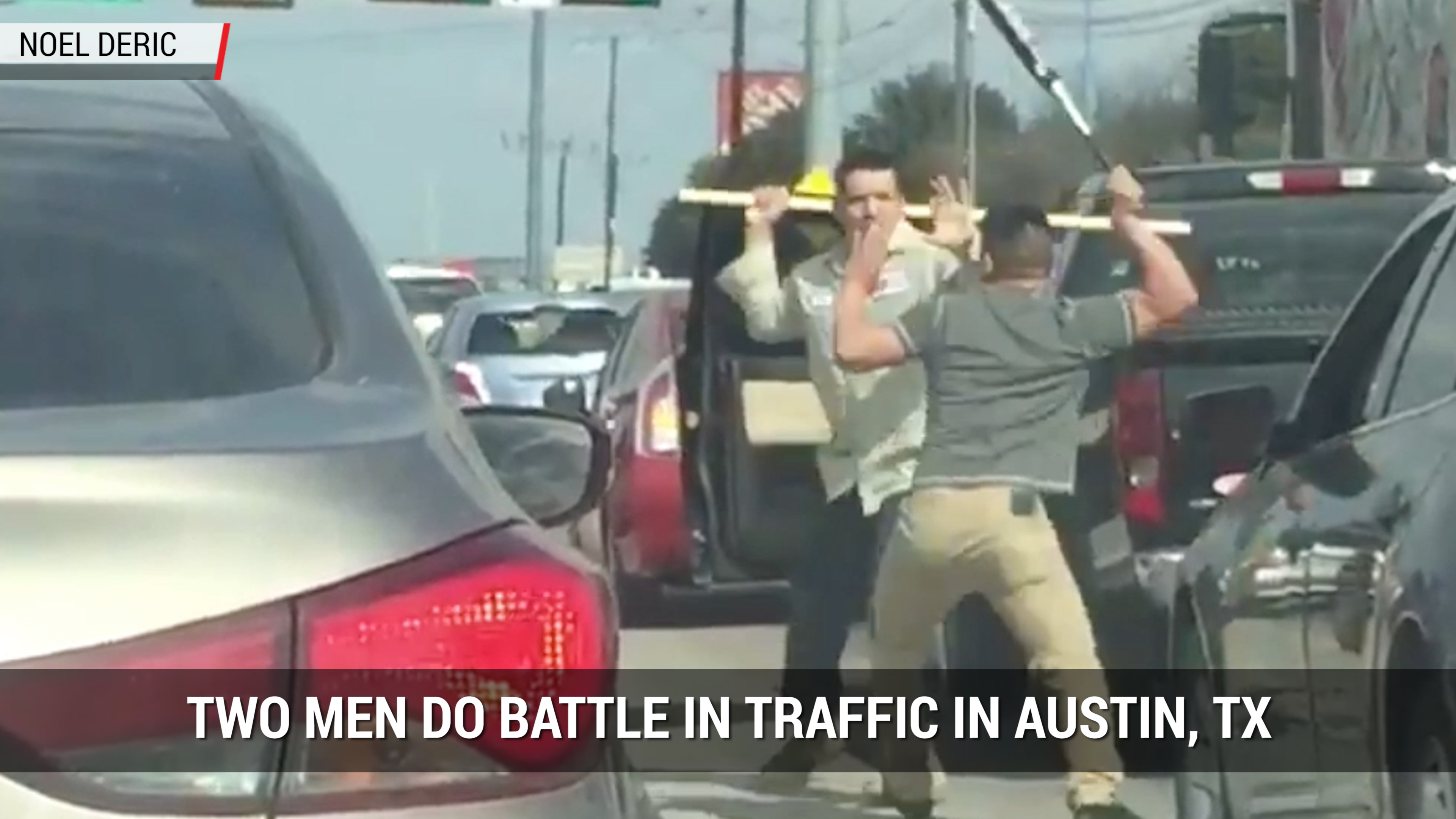 Extreme Road Rage In Texas | Autoblog Minute
