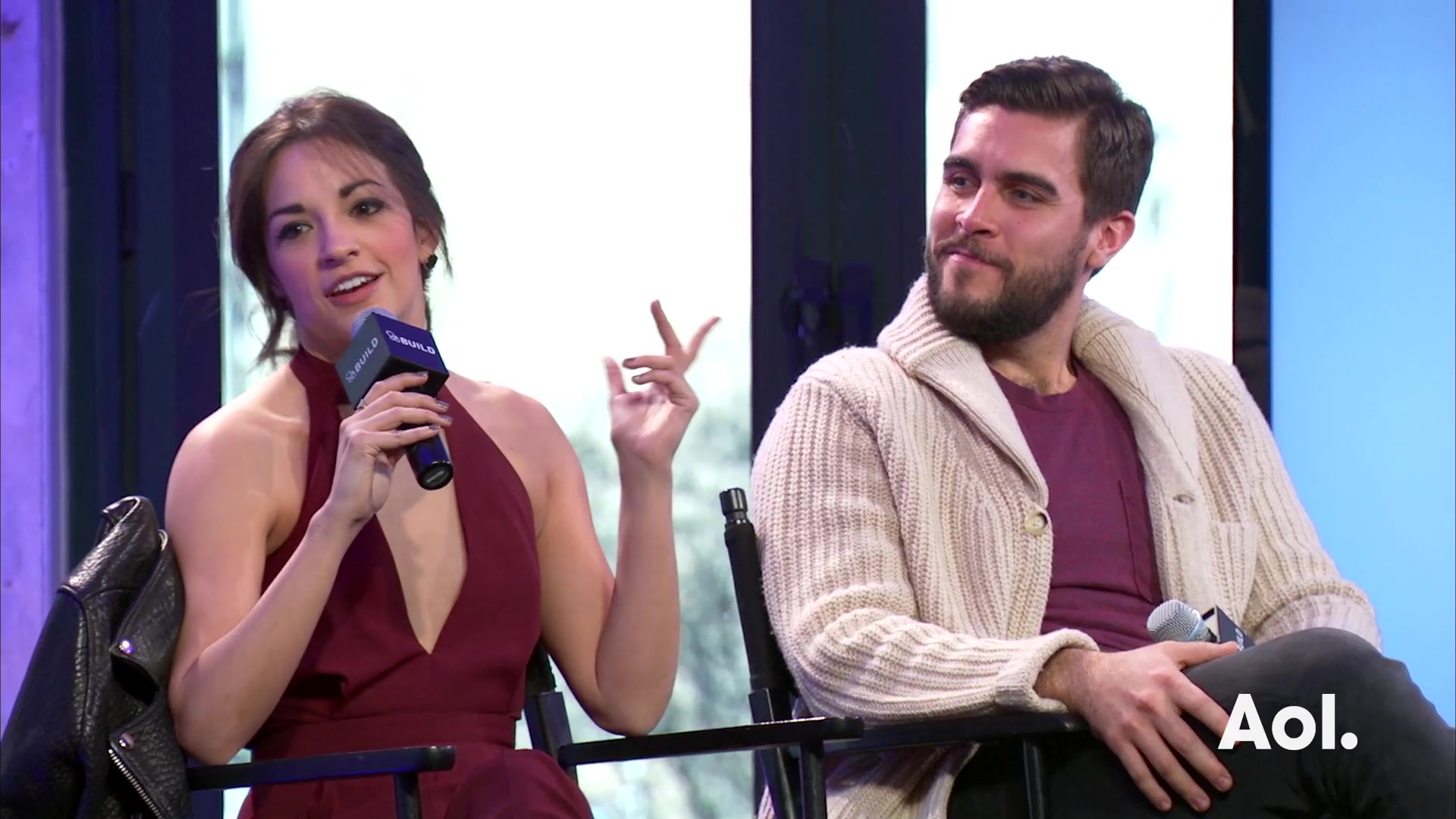 "Josh Segarra and Ana Villafañe on ""On Your Feet"""