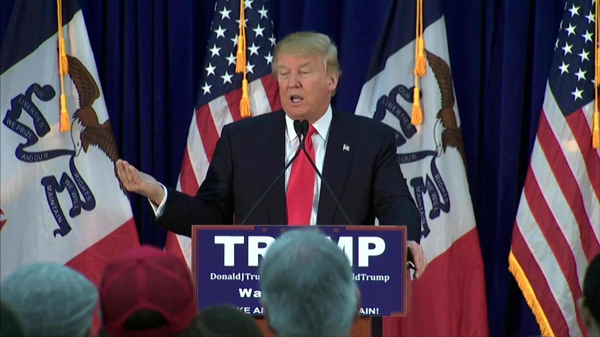 Trump Targets Cruz on Ethanol in Iowa