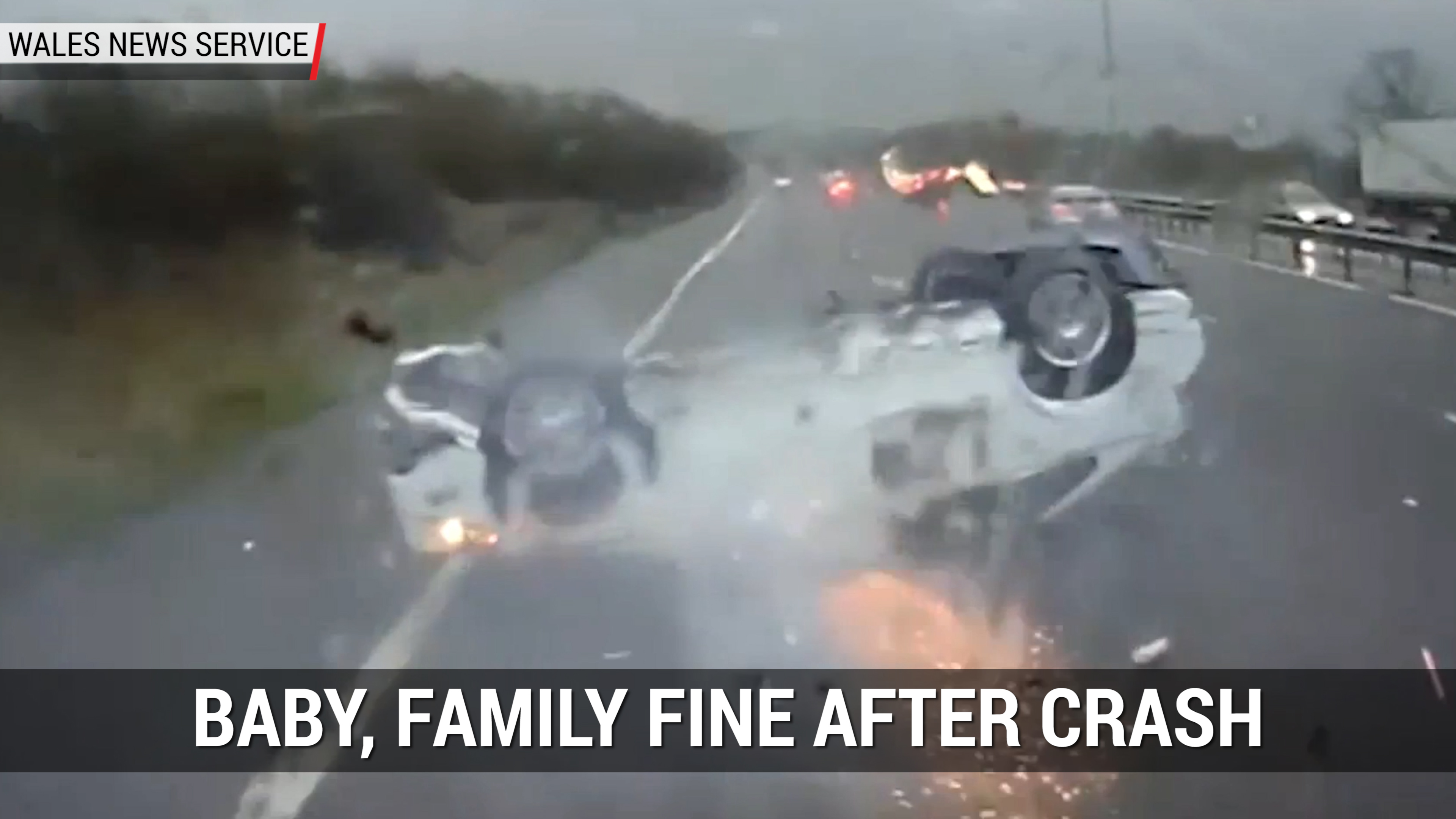 Baby, Family Fine After Crash | Autoblog Minute