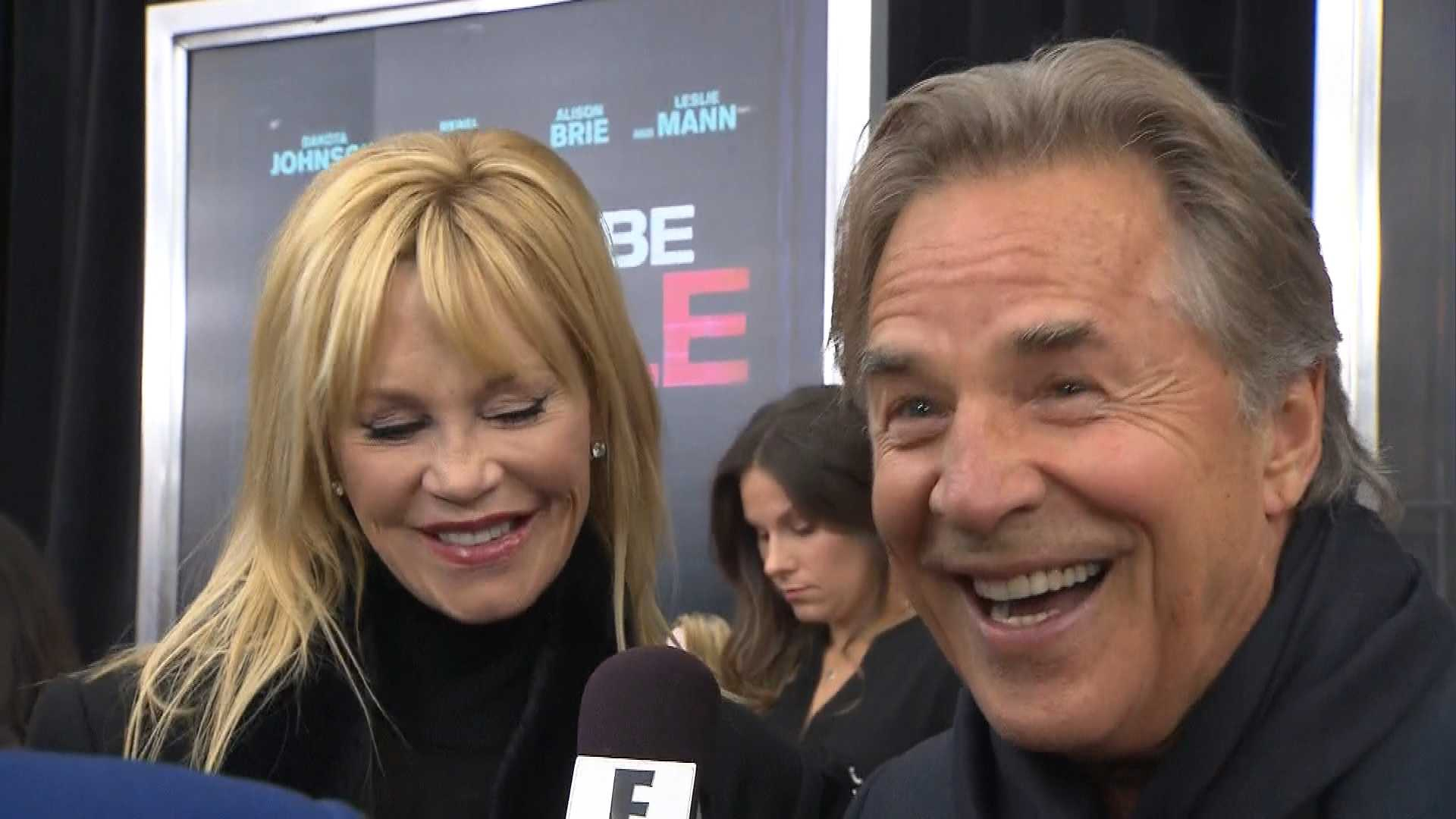 "Melanie Griffith & Don Johnson ""Super Proud"" of Dakota"