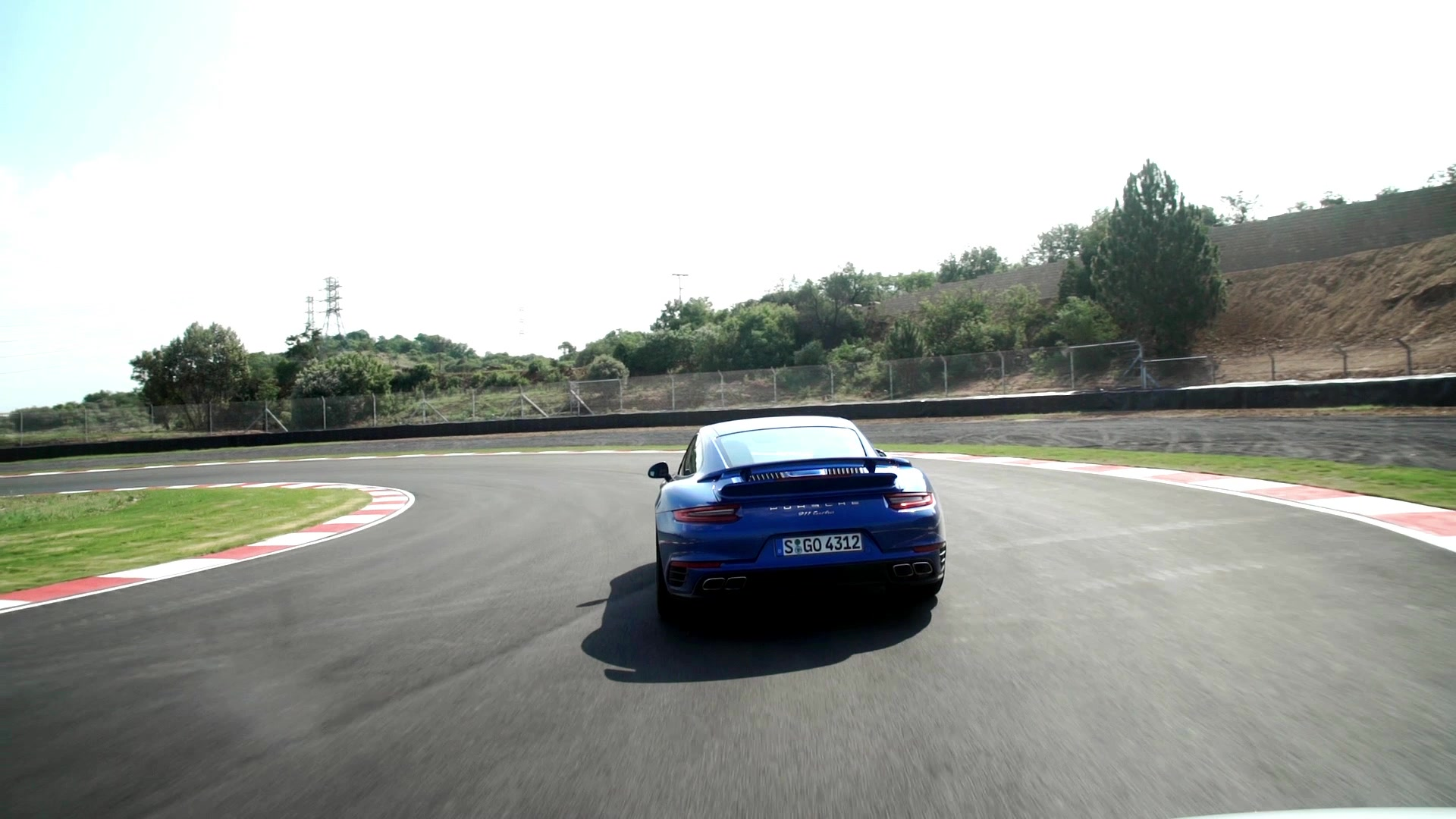 2017 Porsche 911 Turbo Lap of Kyalami Circuit