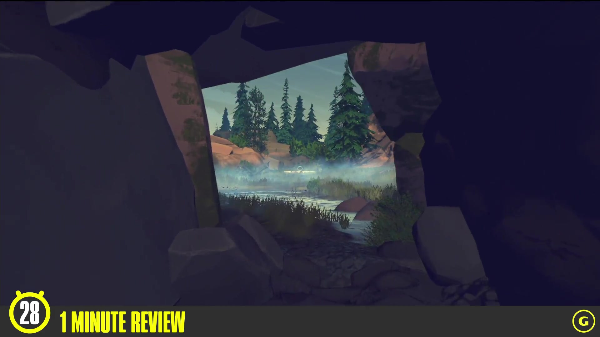 1 Minute Review of Firewatch