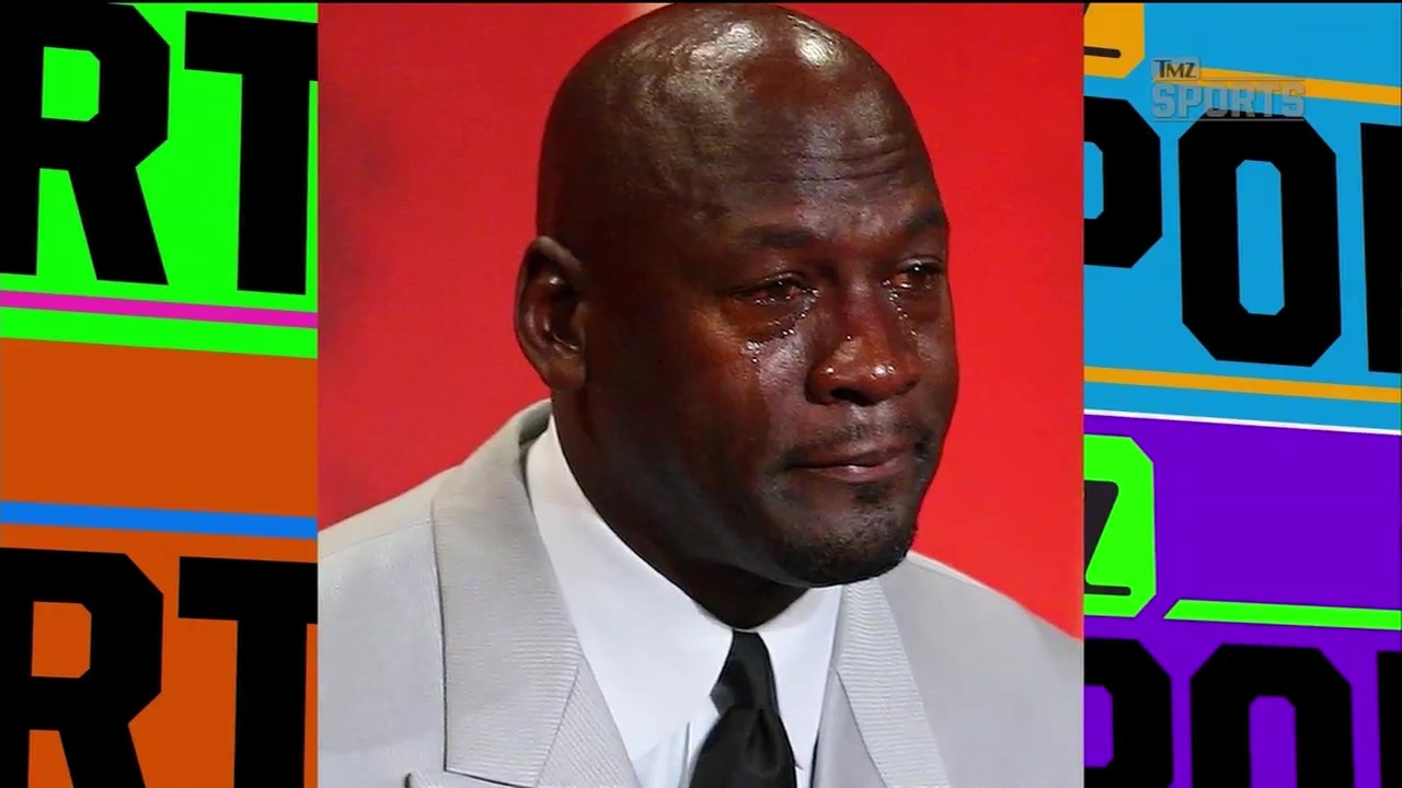 TMZ Sports: Michael Jordan Is Cool with the Crying Face Meme