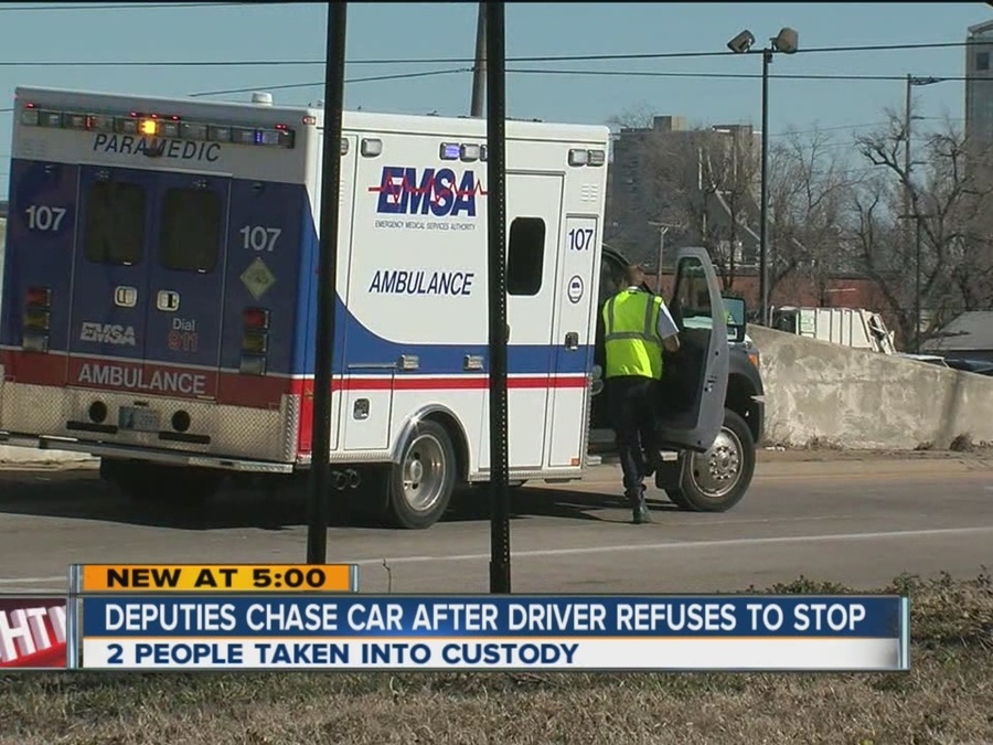 2 Arrested After Tulsa Car Chase