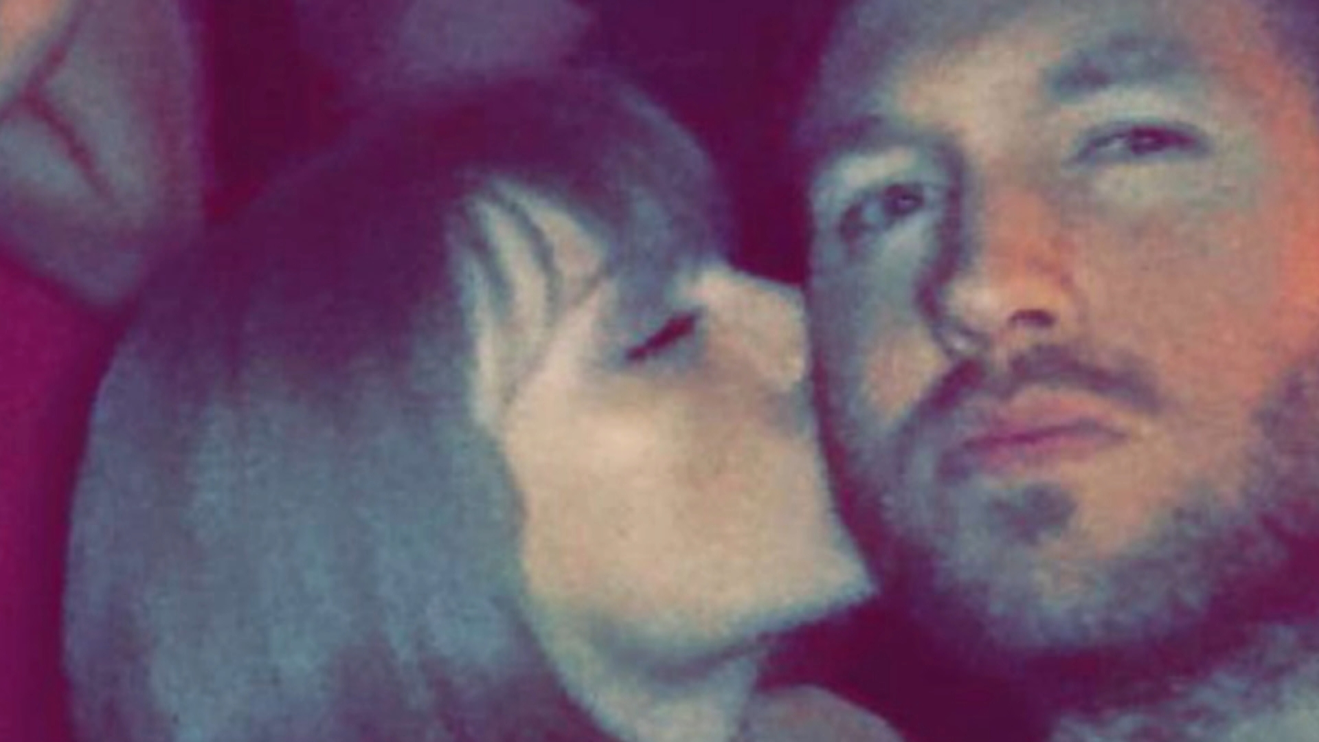 Taylor Swift Kisses Calvin Harris to Celebrate Grammy Win