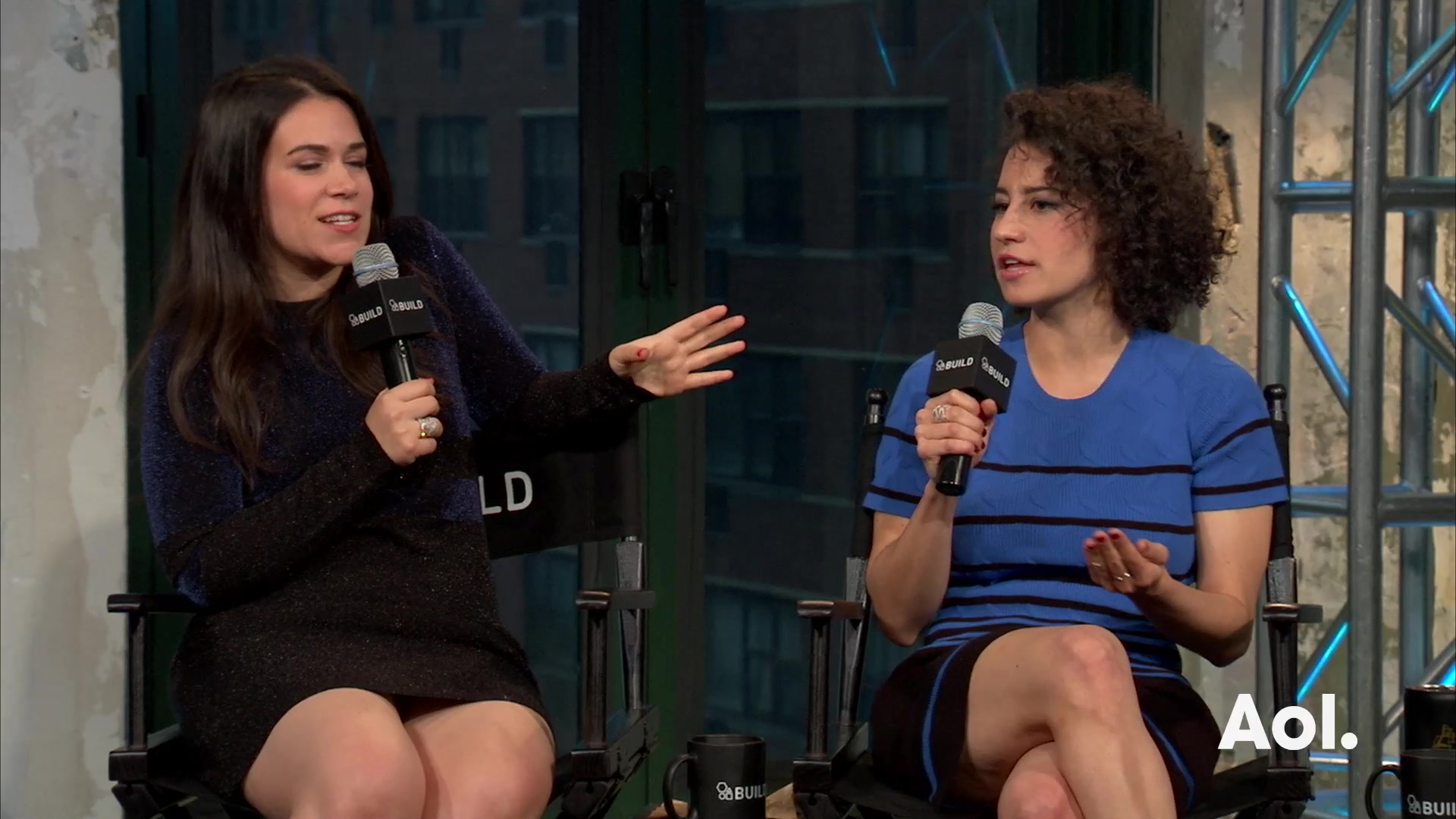 Ilana Glazer and Abbi Jacobson on Working with Hillary Clinton