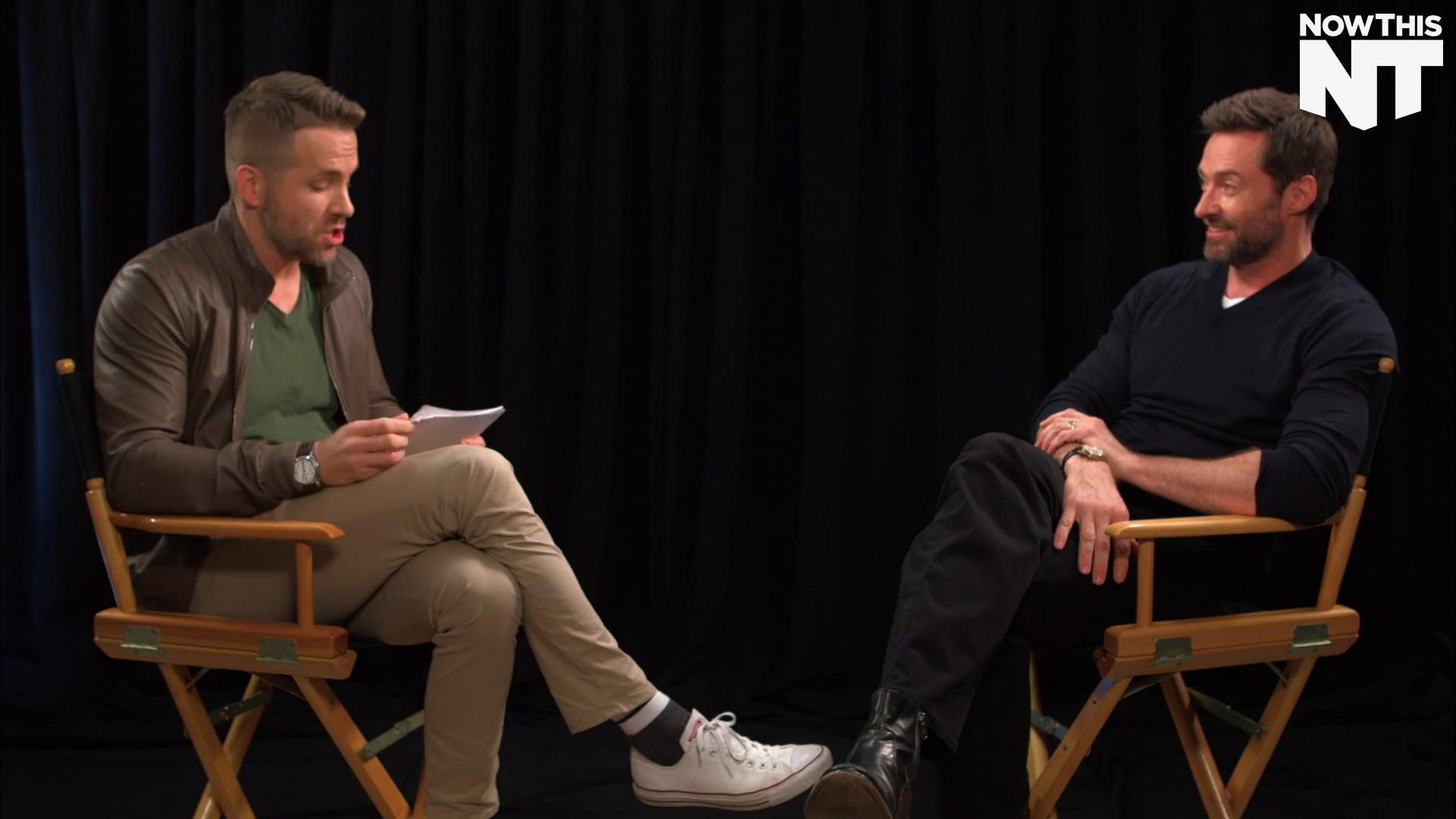 Ryan Reynolds Interviewed Hugh Jackman