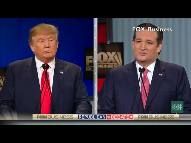 Donald Trump And Ted Cruz Complain Like Children