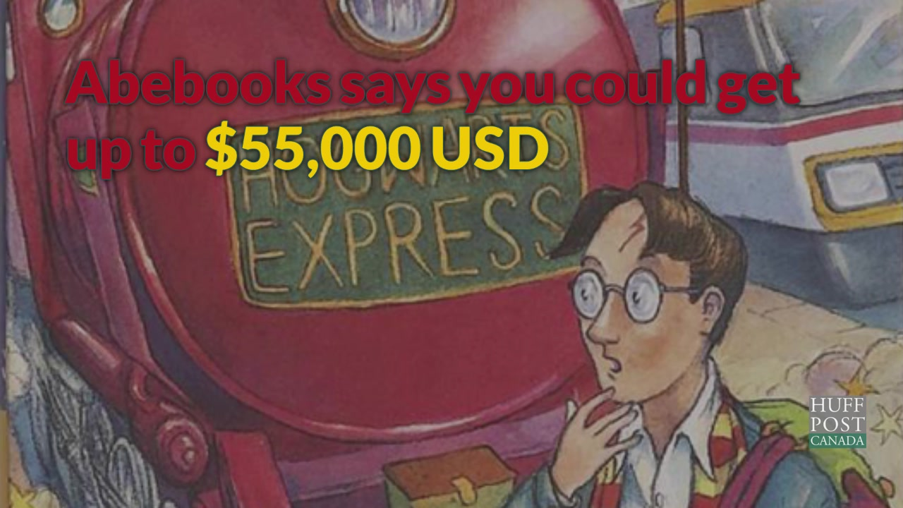 Your Harry Potter Books Might Be Worth A Fortune