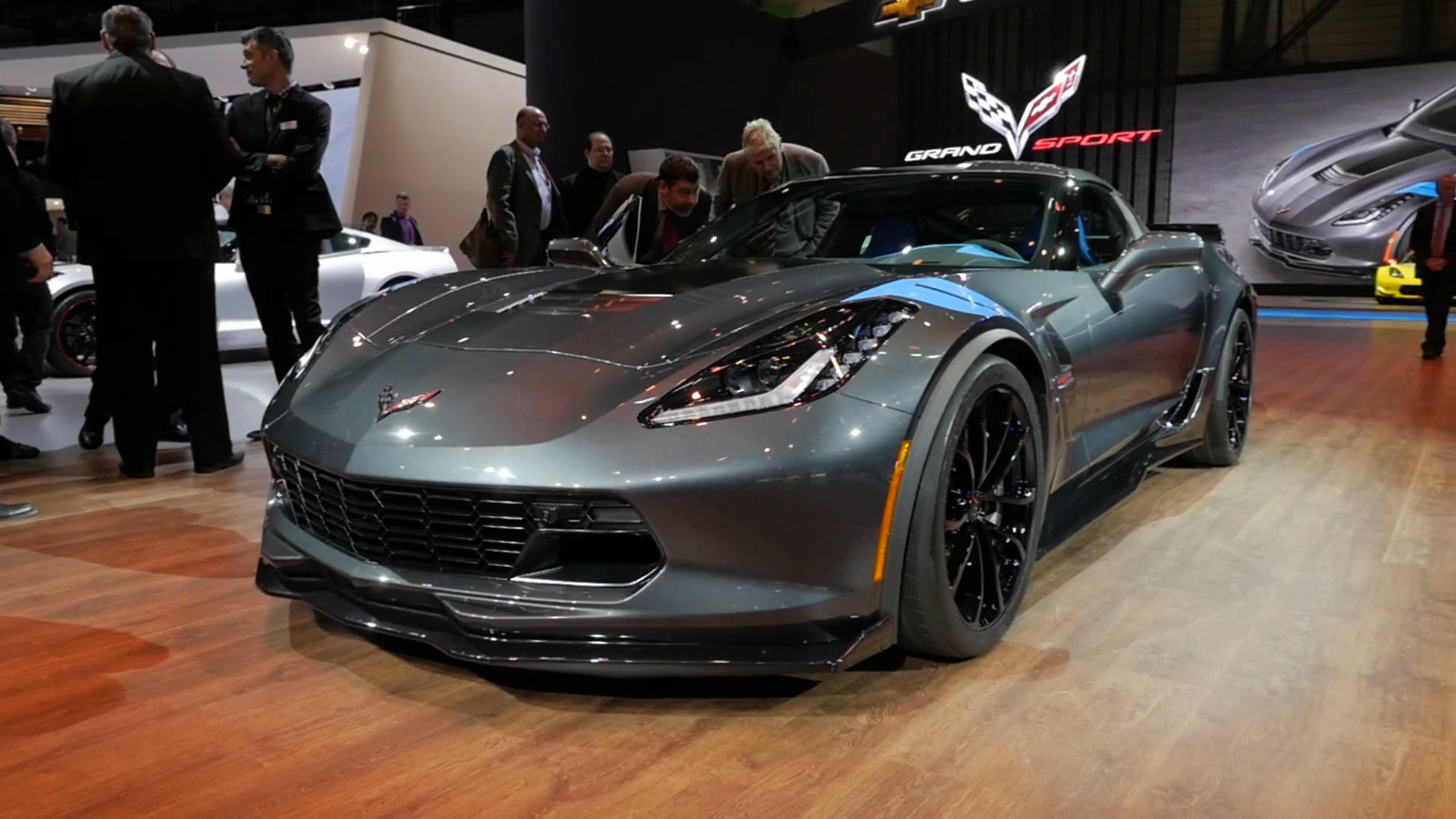 2017 Chevrolet Corvette Grand Sport 2016 Geneva Motor Show Beauty Roll