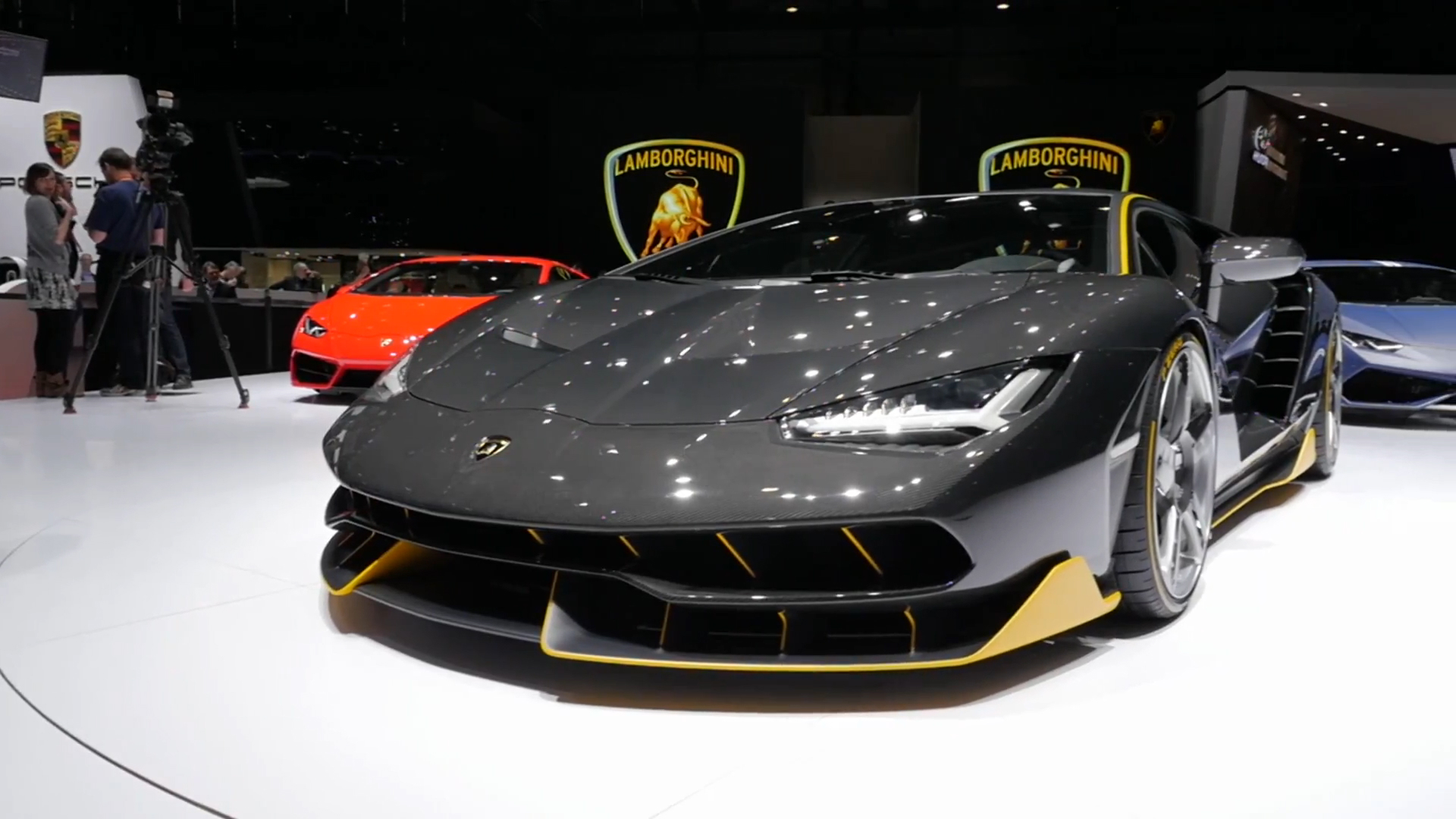 lamborghini's centenario roadster has arrived and it's already