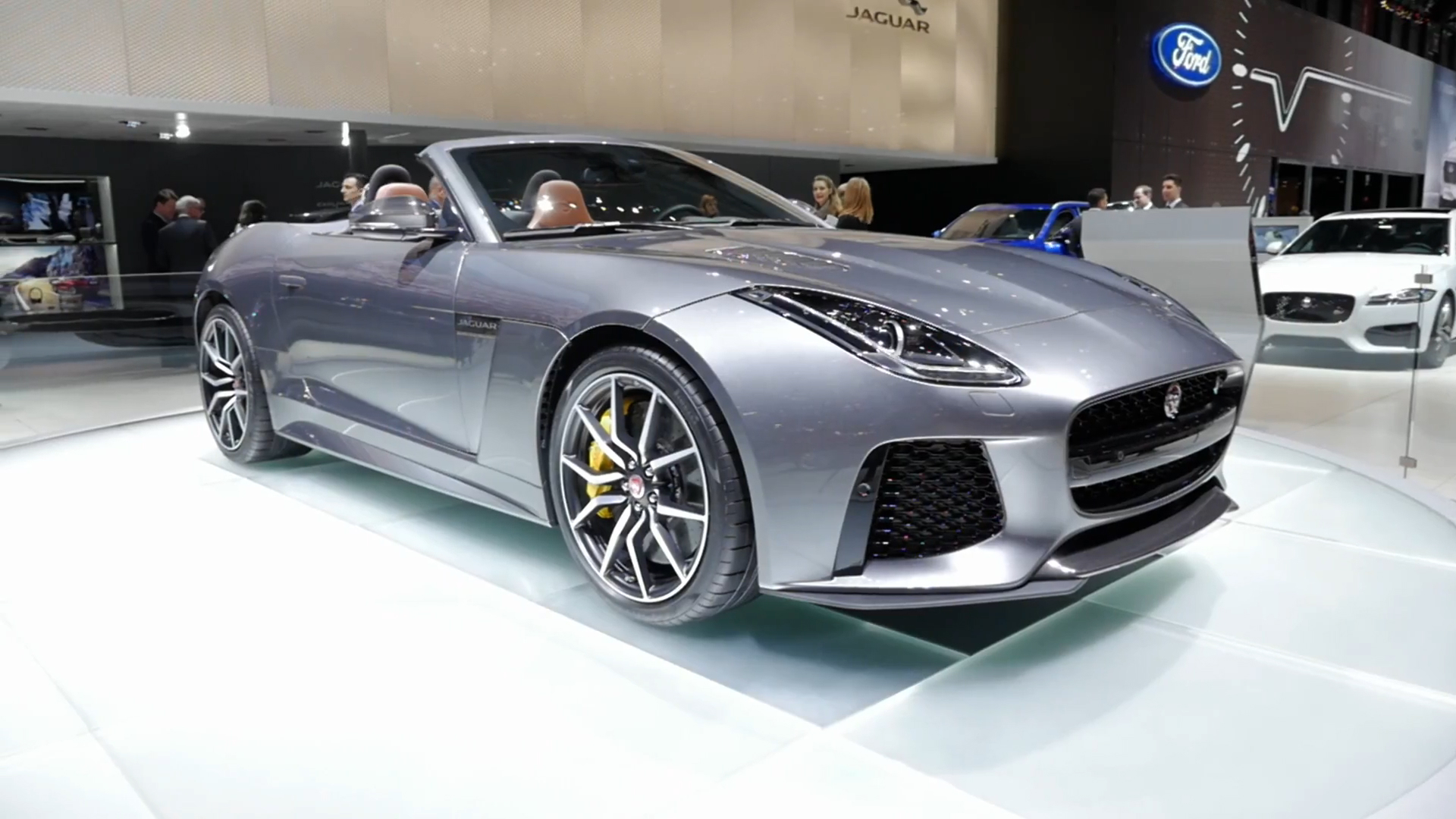 2017 Jaguar F Type Svr 2016 Geneva Motor Show Beauty Roll
