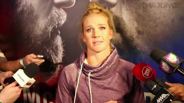 Holly Holm Fighting Miesha Tate but Can't Escape Specter of Ronda Rousey Re
