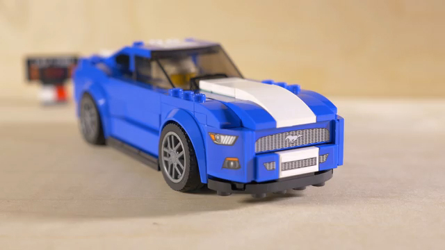 Lego Speed Champions Ford Mustang Build | Autoblog